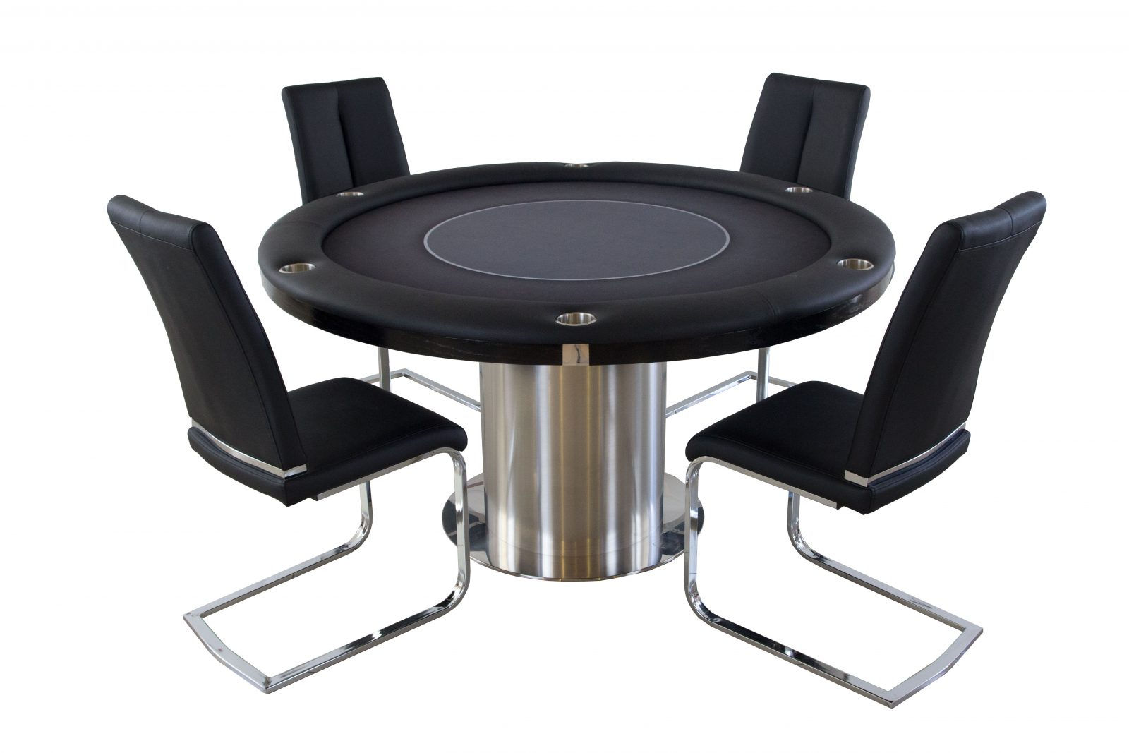 2 in 1 Nile Round Poker and Dining Table